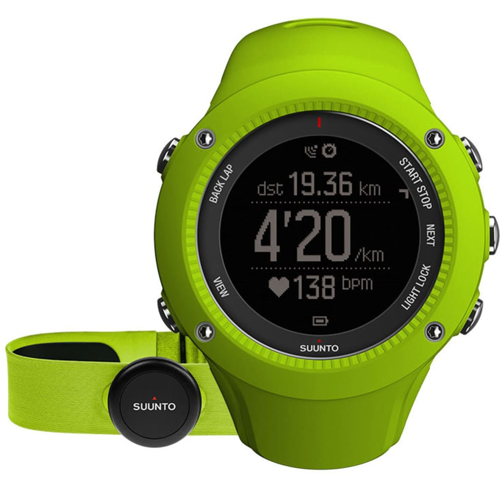 SUUNTO Ambit 3 Run with HRM, Lime - LIME