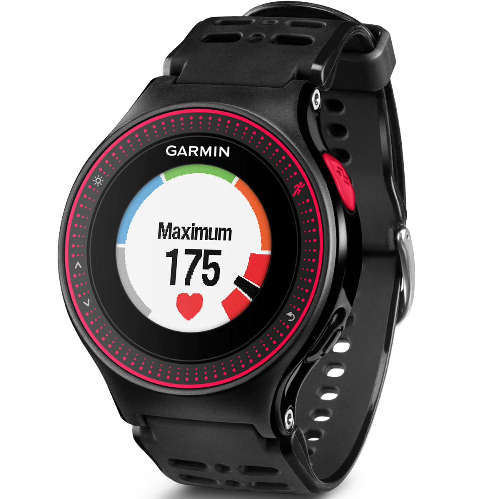 GARMIN Forerunner 225 GPS Heart Rate Monitor Watch - RED/BLACK
