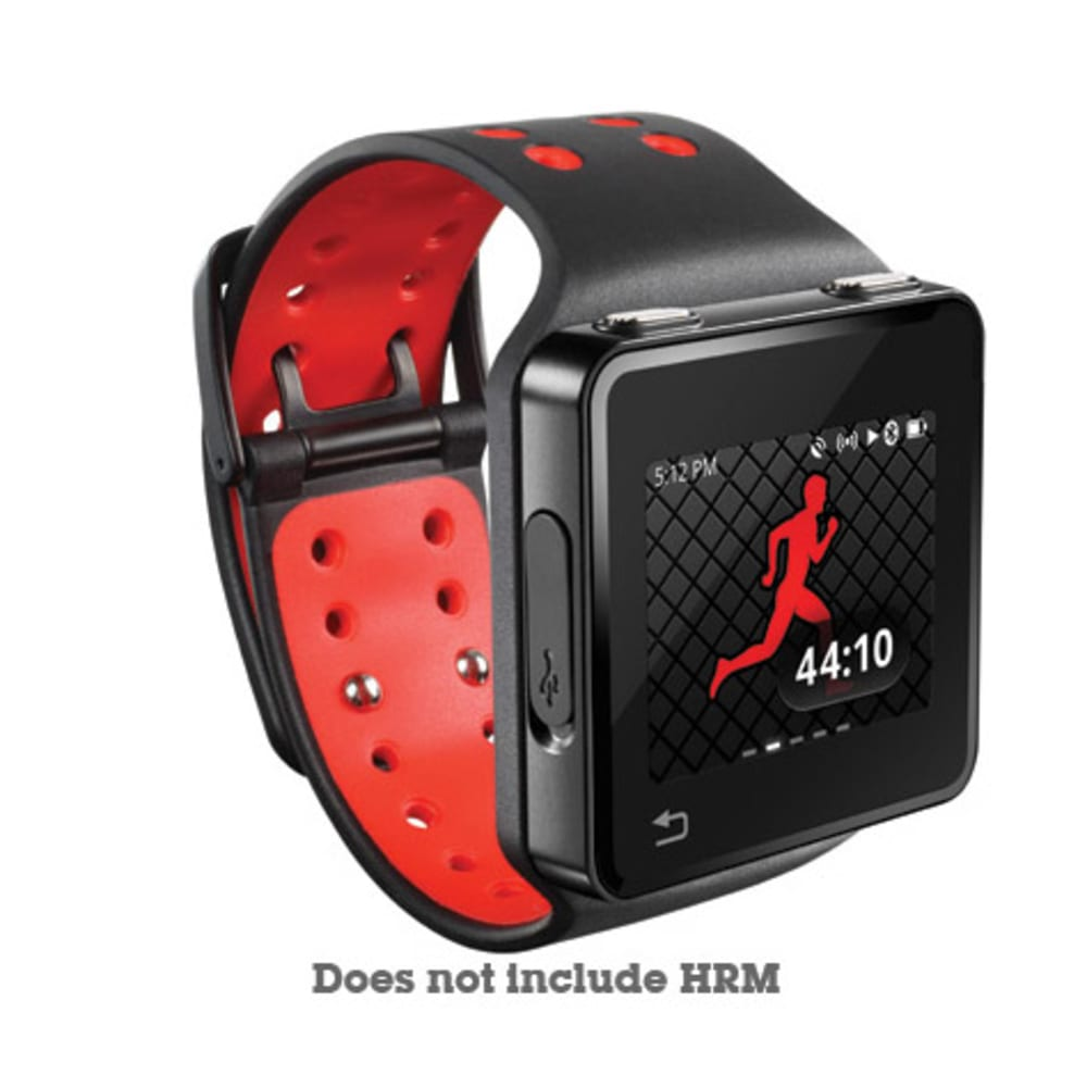 MOTOROLA MotoACTV Wrist Strap - BLACK/RED