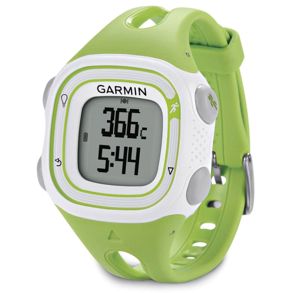garmin forerunner 10 green white. Black Bedroom Furniture Sets. Home Design Ideas