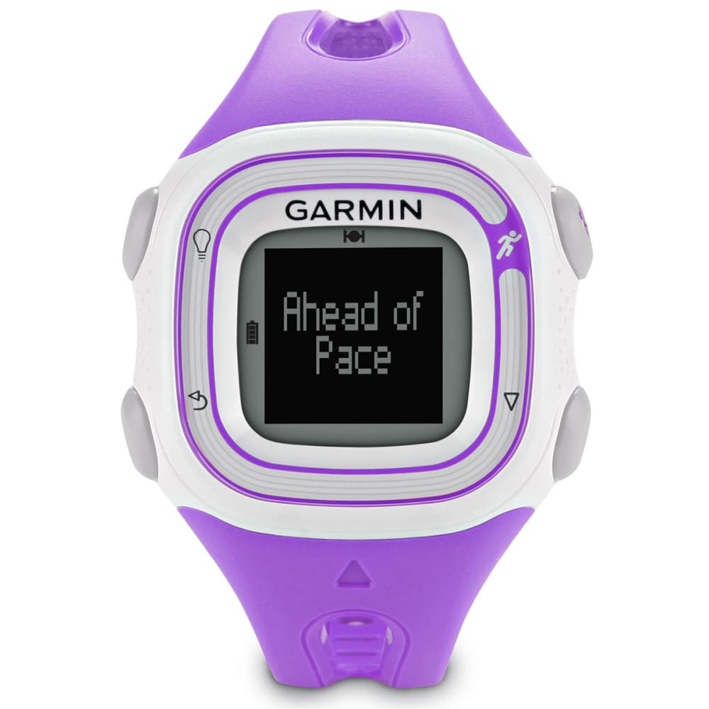 garmin forerunner 10 violet white. Black Bedroom Furniture Sets. Home Design Ideas