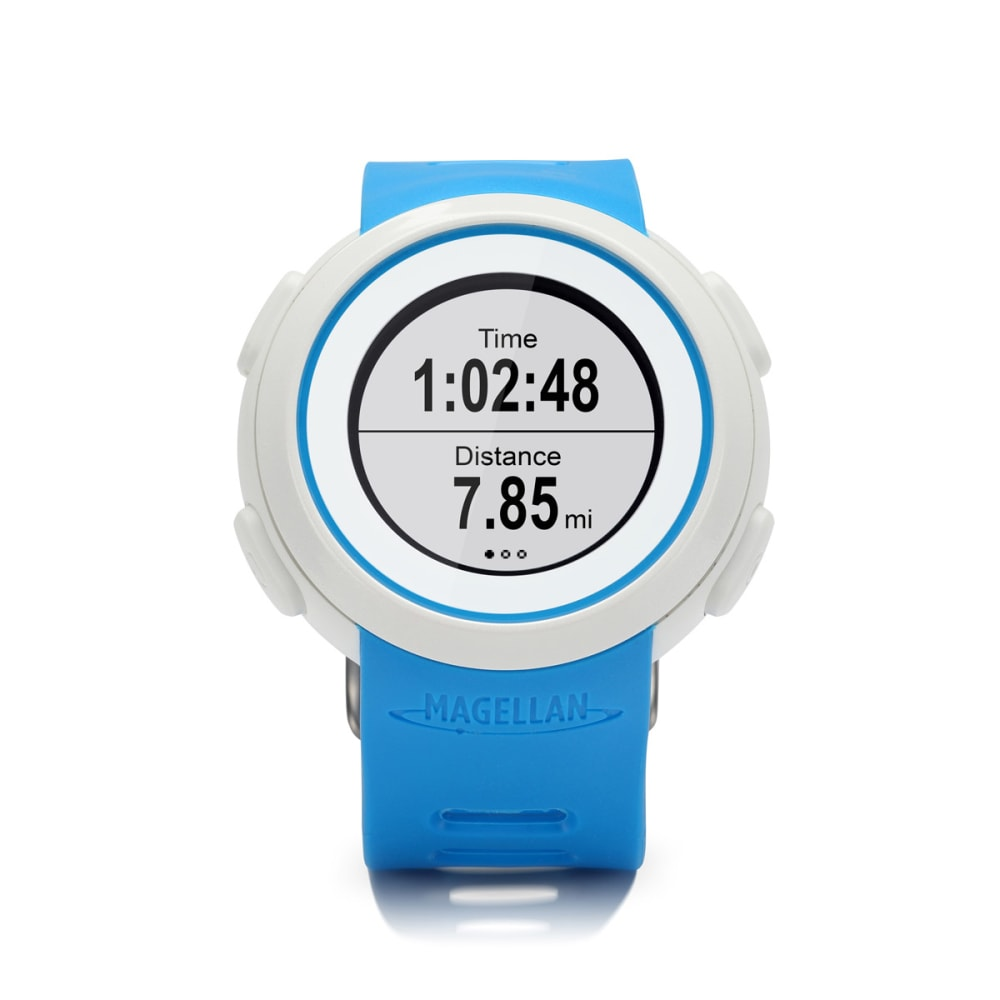 MAGELLAN Echo Watch with Heart Rate Monitor - BLUE