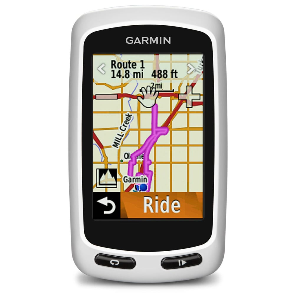 GARMIN Edge Touring Plus GPS - WHITE