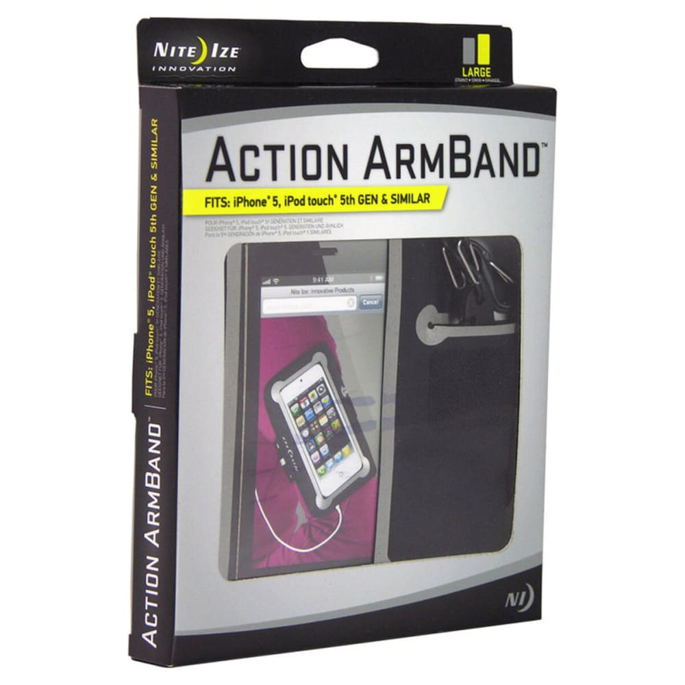 NITE IZE Action Arm Band, Large - NONE