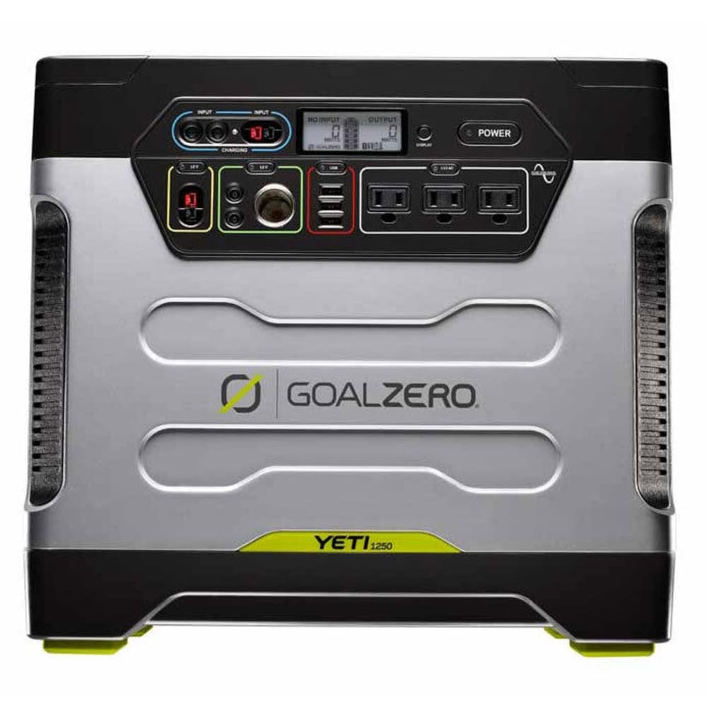 GOAL ZERO Yeti 1250 Solar Generator with Roll Cart - NONE