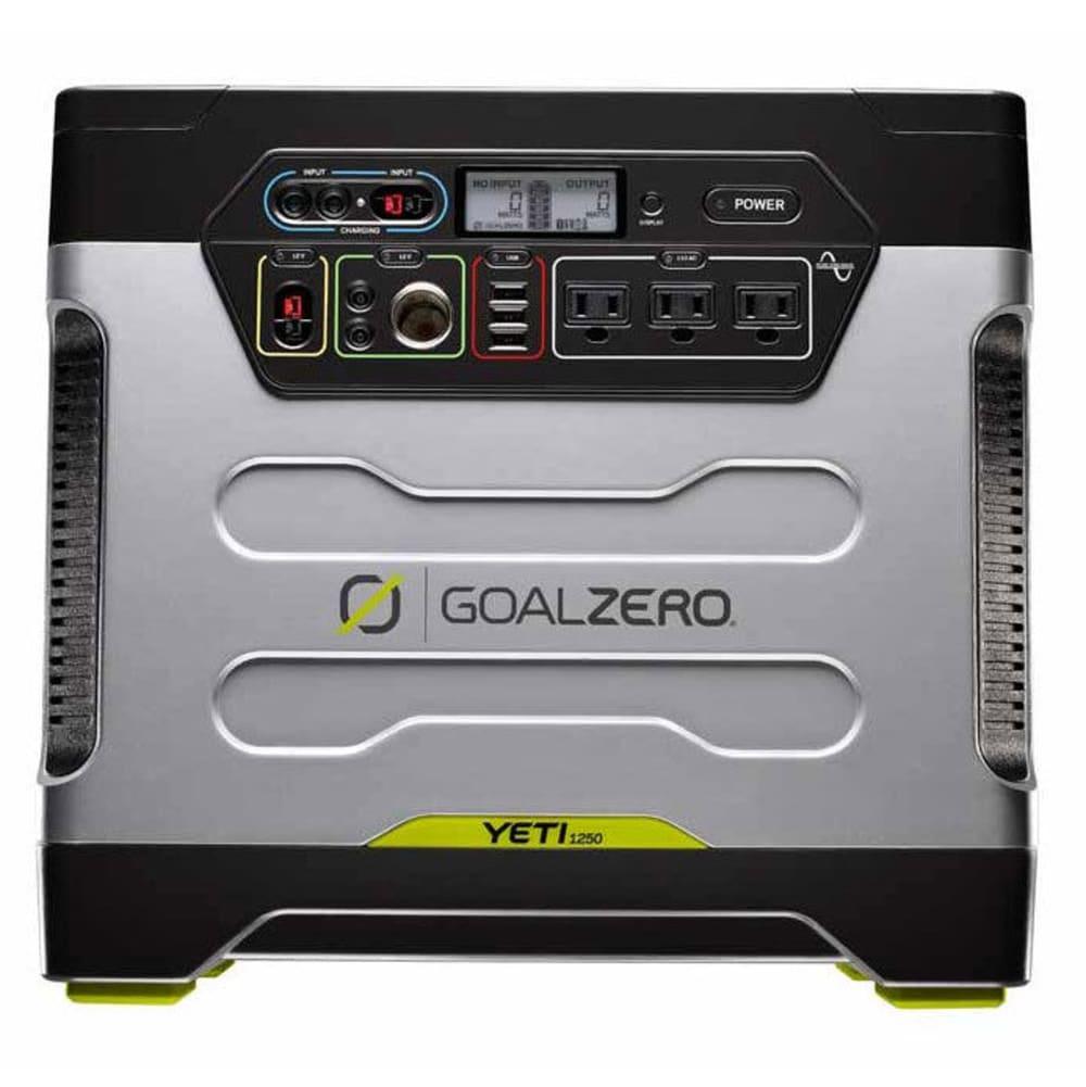 GOAL ZERO Yeti 1250 Solar Generator with Roll Cart - NONE