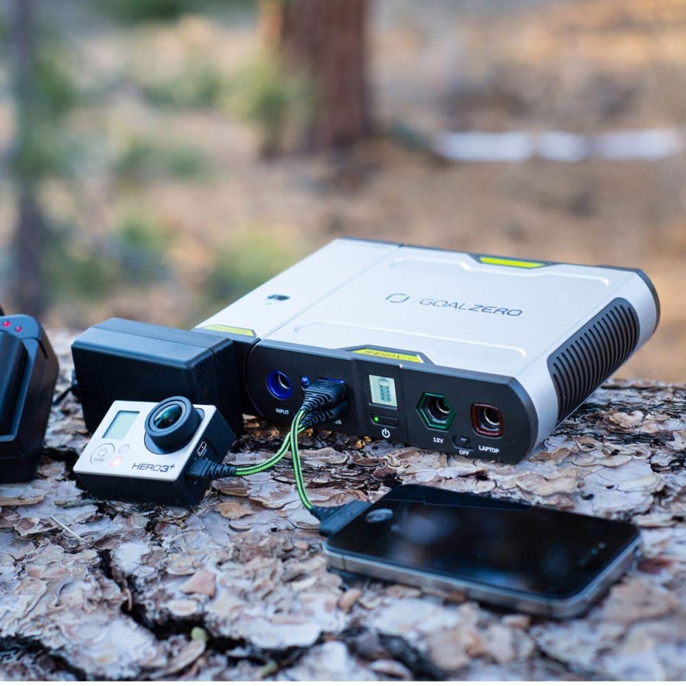 GOAL ZERO Sherpa 100 Solar Recharging Kit w/ Nomad 20 and 110V Inverter - NONE