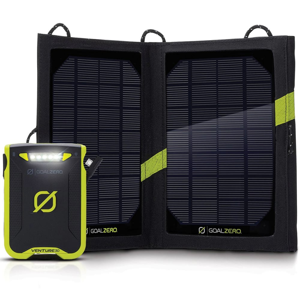 GOAL ZERO Venture 30 Solar Kit NO SIZE