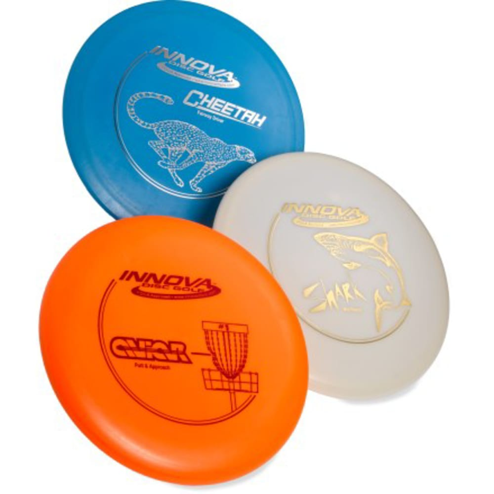 INNOVA DISC GOLF DX 3 Pack Disc Set - NONE