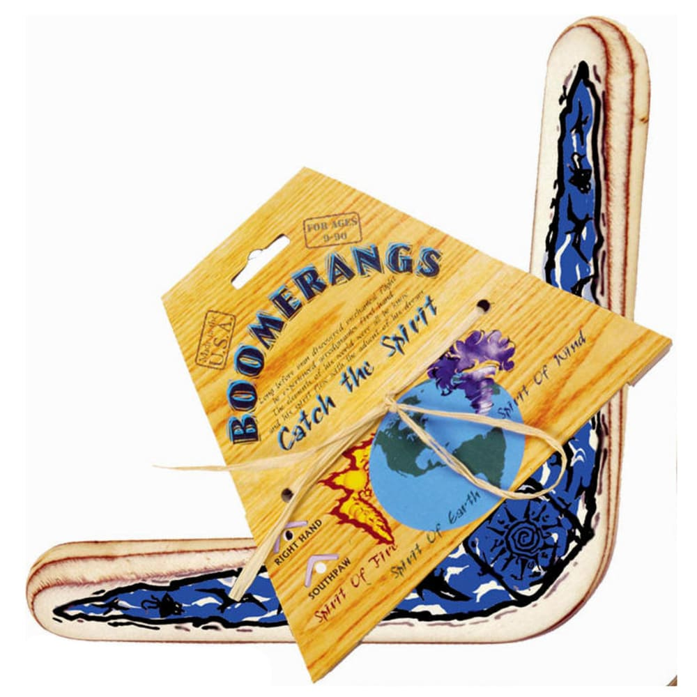 CHANNEL CRAFT Spirit of Wind Boomerang - BLUE