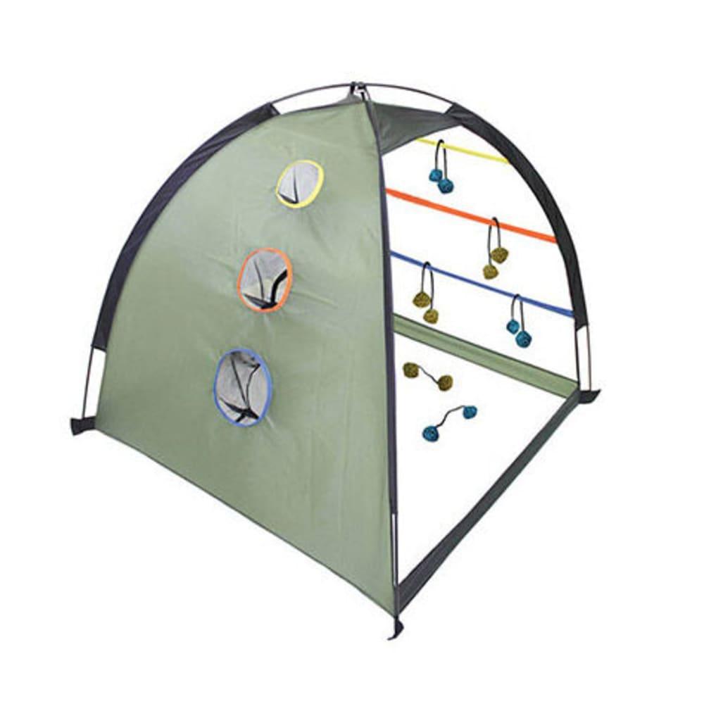 OUTSIDE INSIDE Dome 2-in-1 Ladderball/Cornhole Game - MULTI
