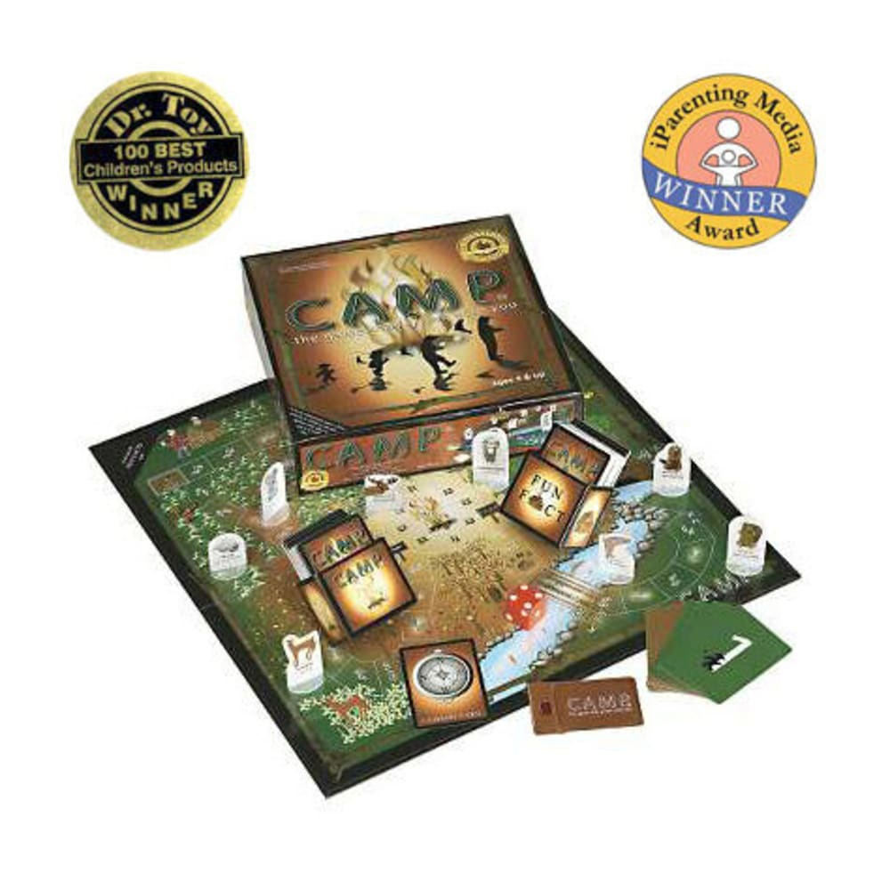 EDUCATION OUTDOORS Camp Board Game - NONE