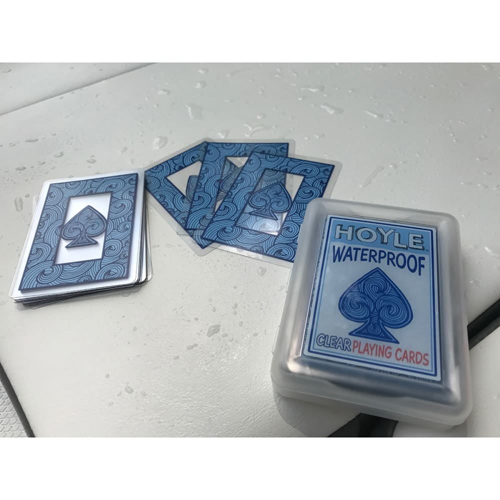 HOYLE Clear Poker Cards - NONE