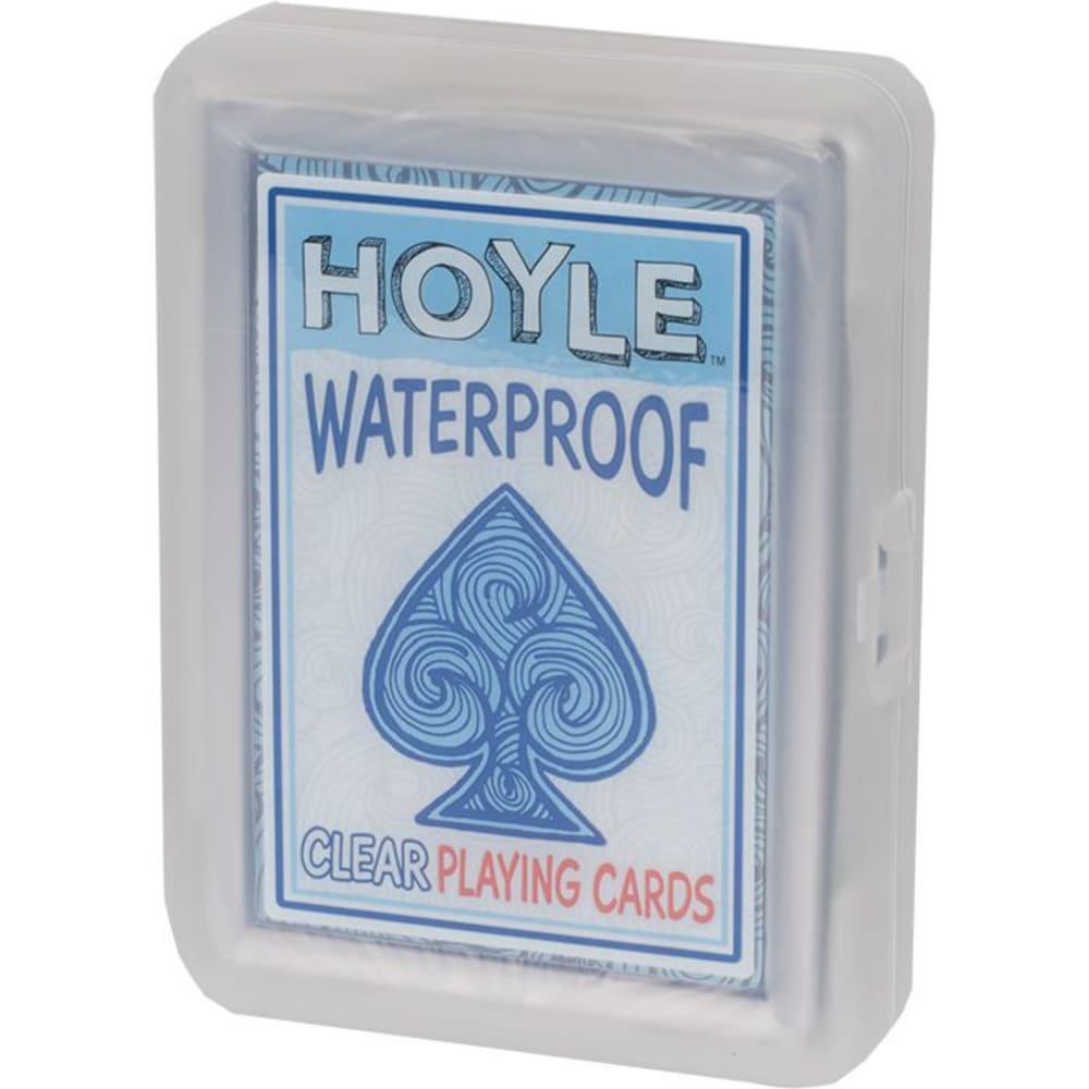 HOYLE Clear Poker Cards NA