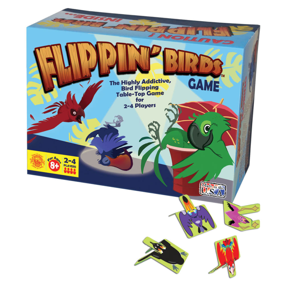 CHANNEL CRAFT & DISTRIBUTORS Flippin' Birds Game Box - ASSORTED