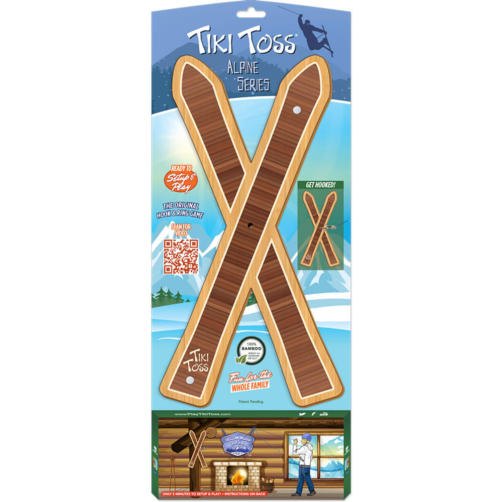 MELLOW MILITIA Tiki Toss Ski Edition Game - NONE
