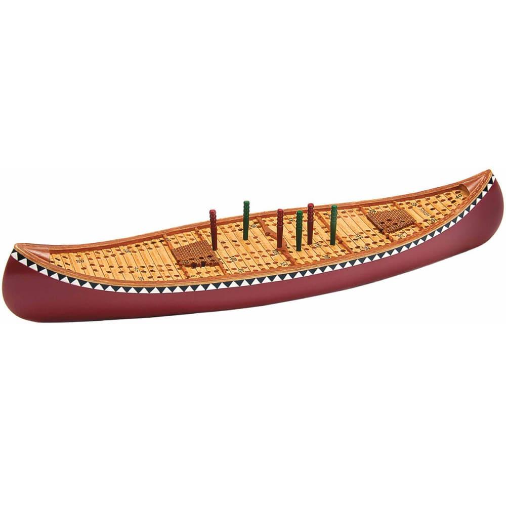 OUTSIDE INSIDE Canoe Cribbage Board - NONE