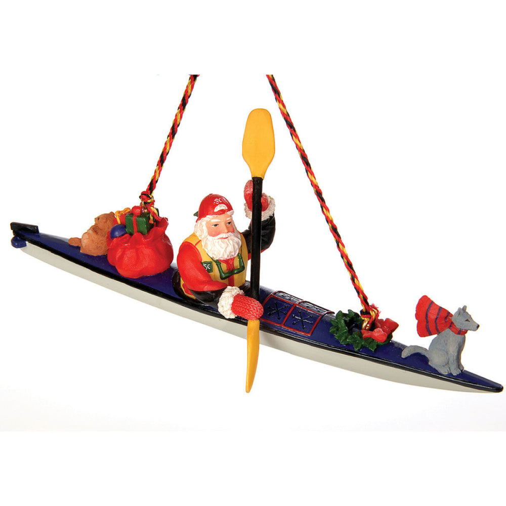 GSI OUTDOORS Sea Kayak Santa Ornament - NONE