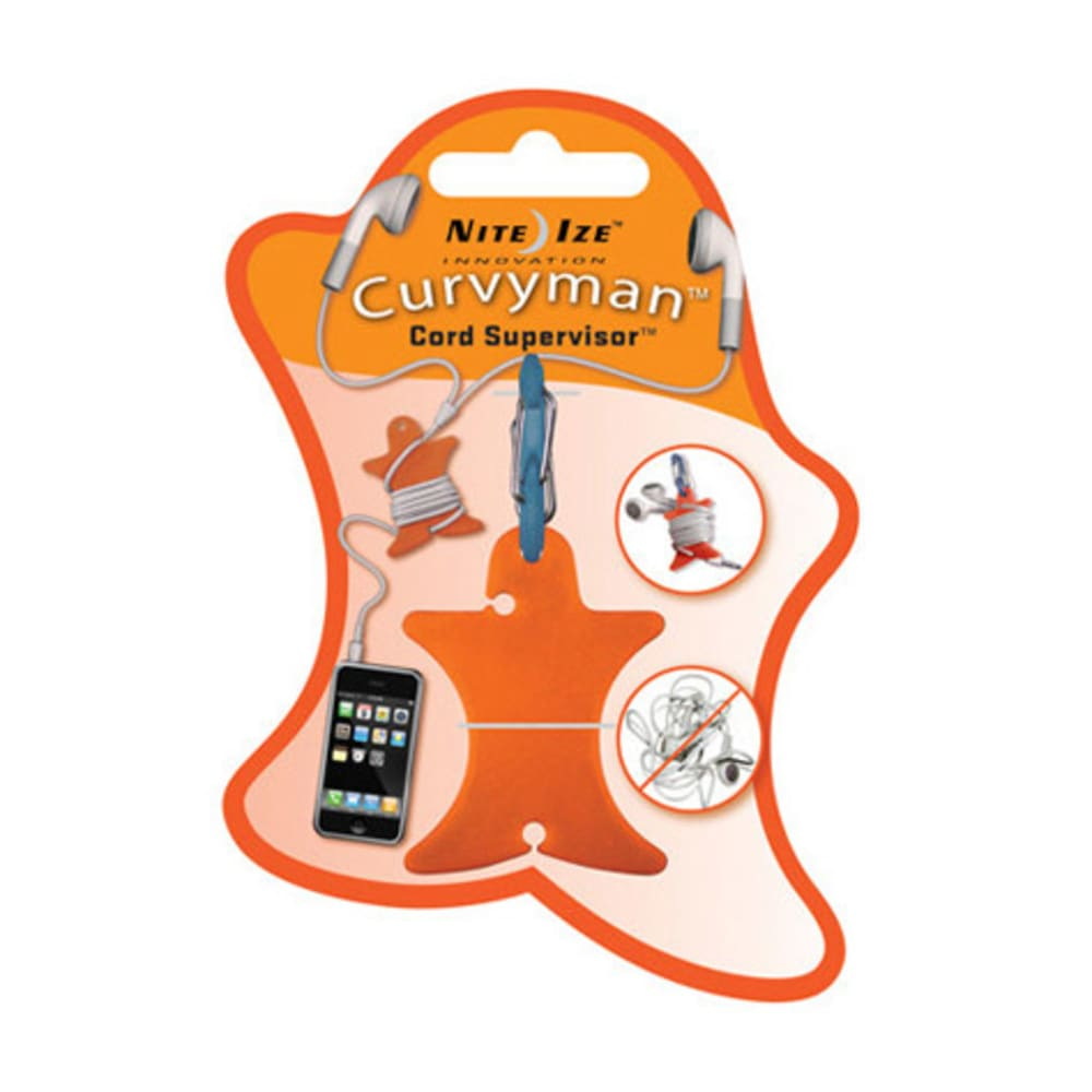 NITE IZE Curvyman - ORANGE/CVM-03-19