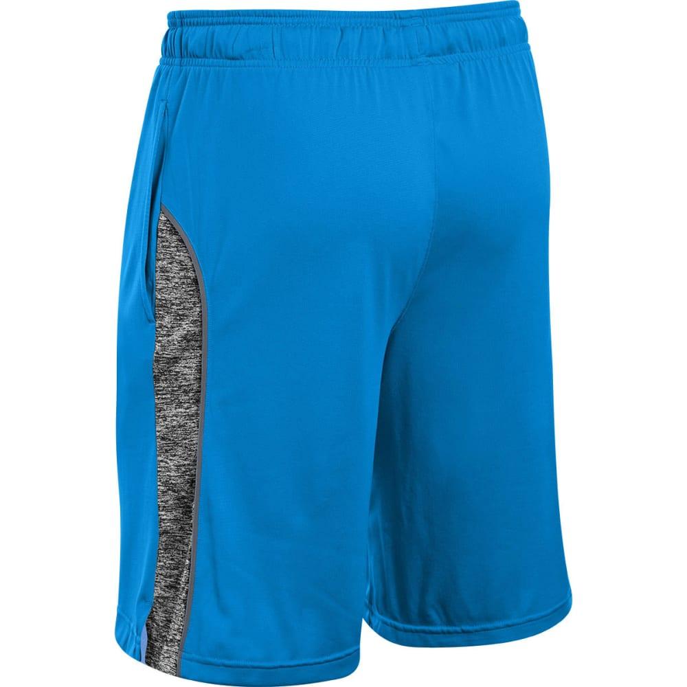 UNDER ARMOUR Men's UA Tech Shorts - BLUE HEATHER
