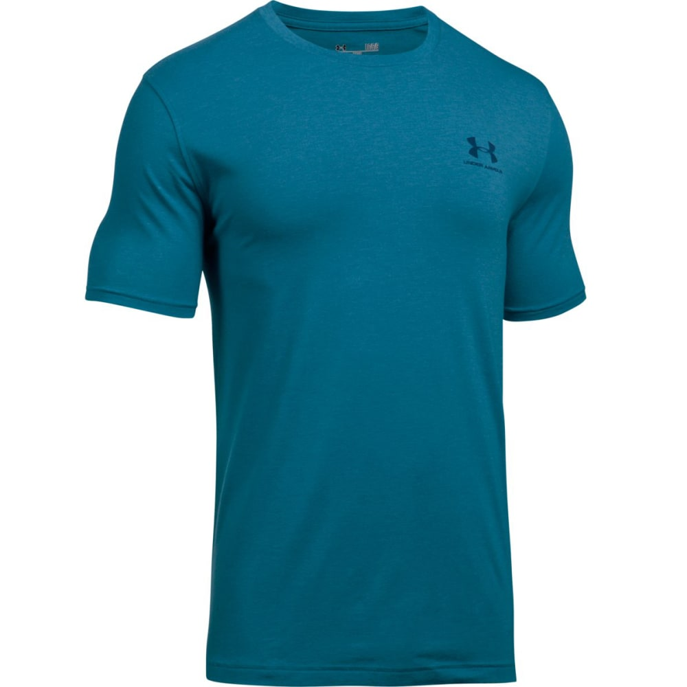 Under Armour Men's Charged Cotton Tee - Blue 1257616