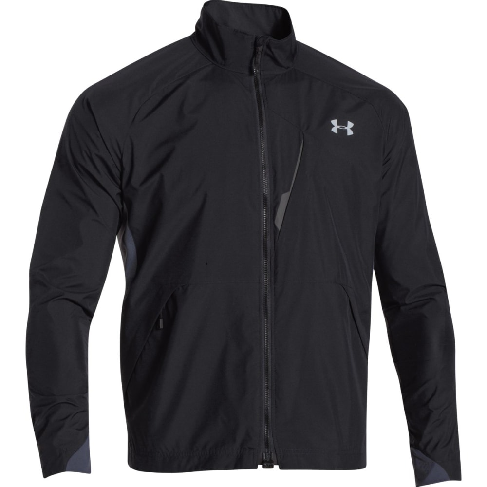 UNDER ARMOUR Men's Storm ColdGear® Infrared WINDSTOPPER® Shadow Jacket - BLACK STEEL