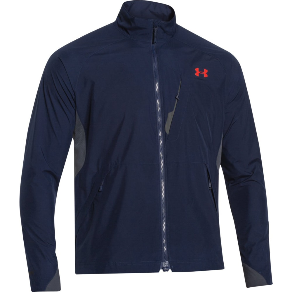 UNDER ARMOUR Men's Storm ColdGear® Infrared WINDSTOPPER® Shadow Jacket - ACADEMIC BLUE