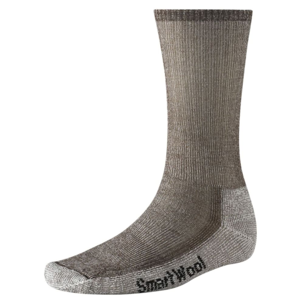 SMARTWOOL Hike Midweight Crew Socks - DARK BROWN 242