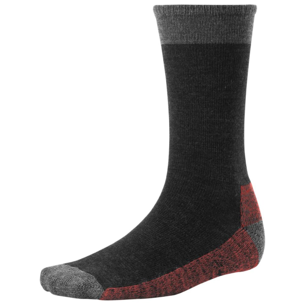 SMARTWOOL Men's Hiker Street Sock - CHARCOAL HTR 010