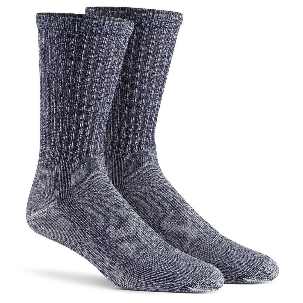 FOX RIVER Men's Merino Hiking Crew Socks, 2-Pack - 02030 NVY