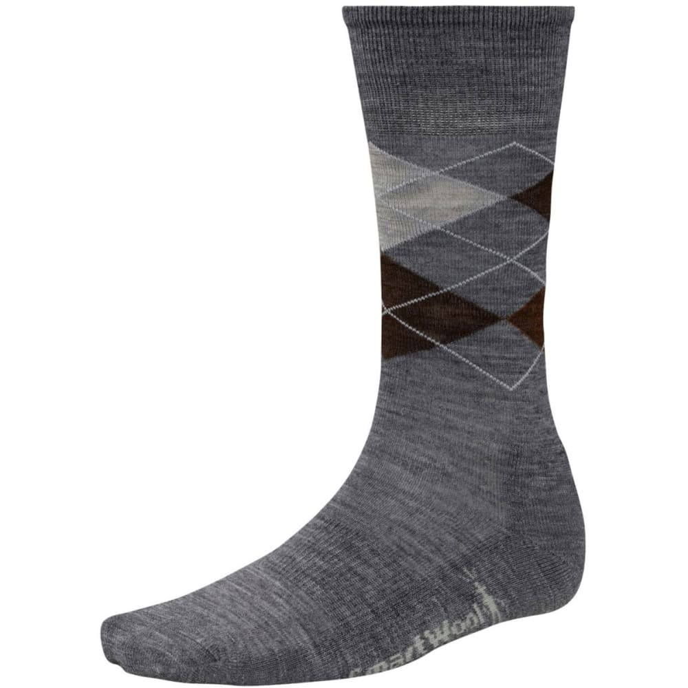 SMARTWOOL Men's Diamond Jim Socks - CHARCOAL/DEEP NV-517