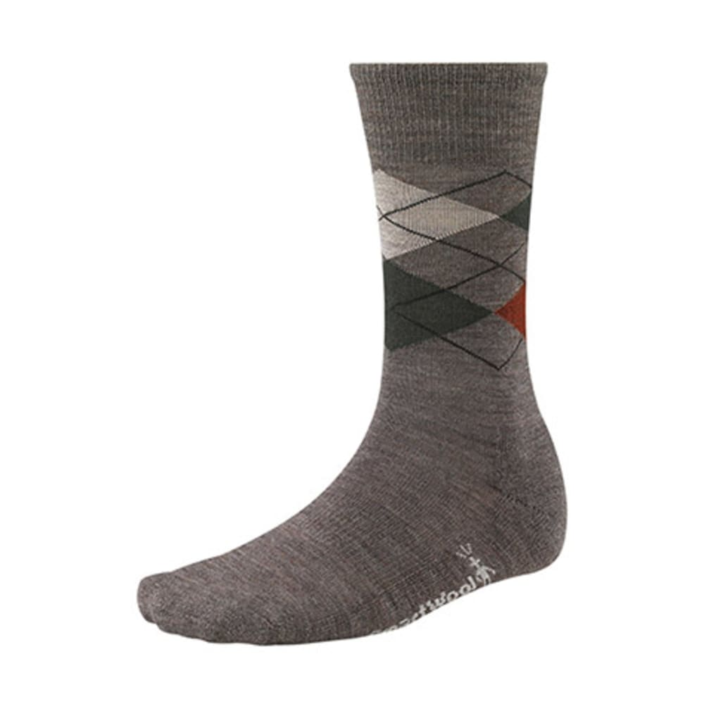 SMARTWOOL Men's Diamond Jim Socks - TAUPE HEATHER