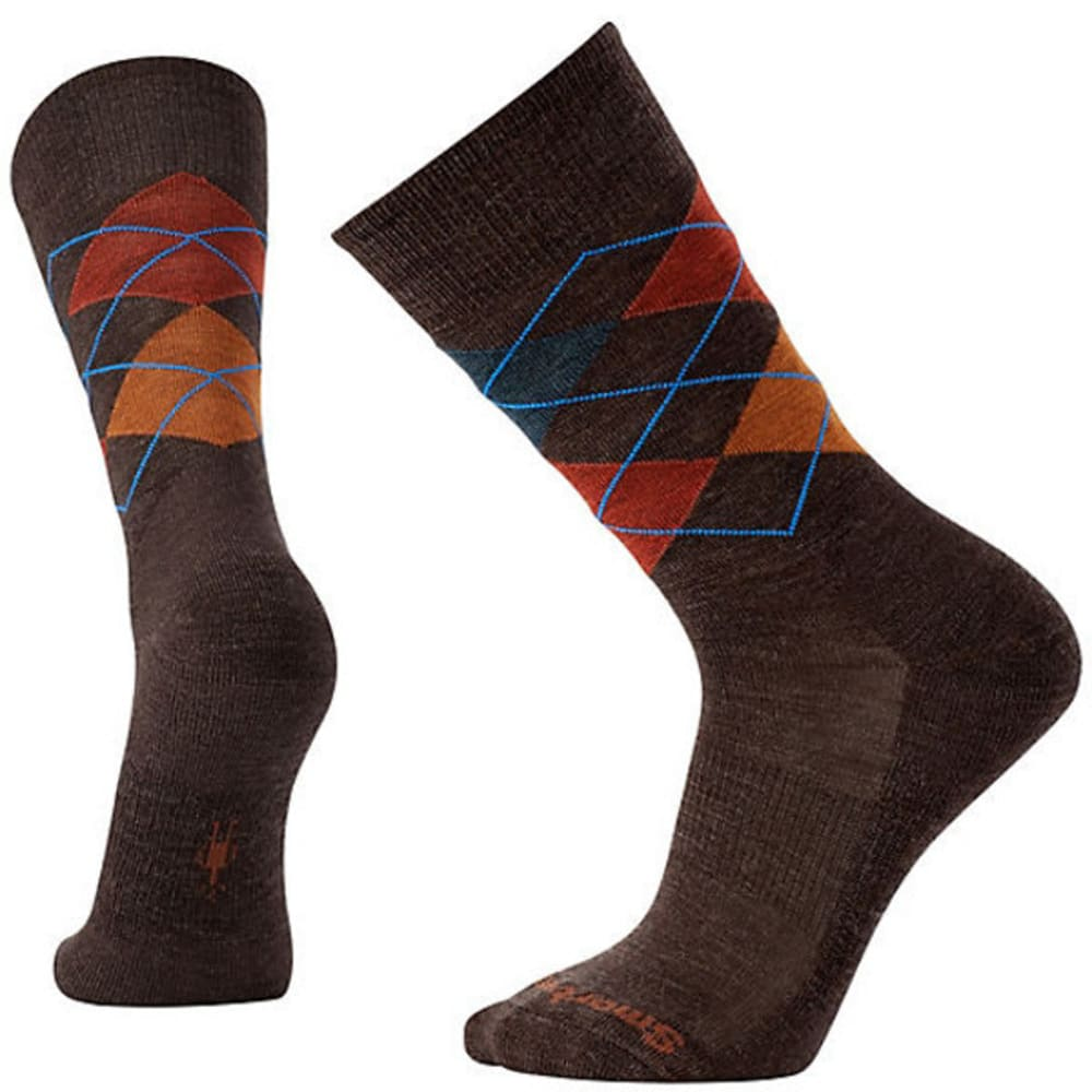 SMARTWOOL Men's Diamond Jim Socks - CHEST/CINN 224