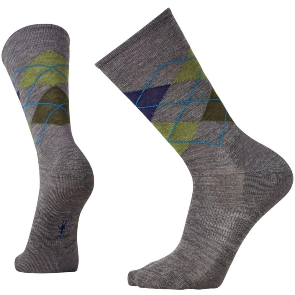 SMARTWOOL Men's Diamond Jim Socks - DP NVY/MED GRAY 448