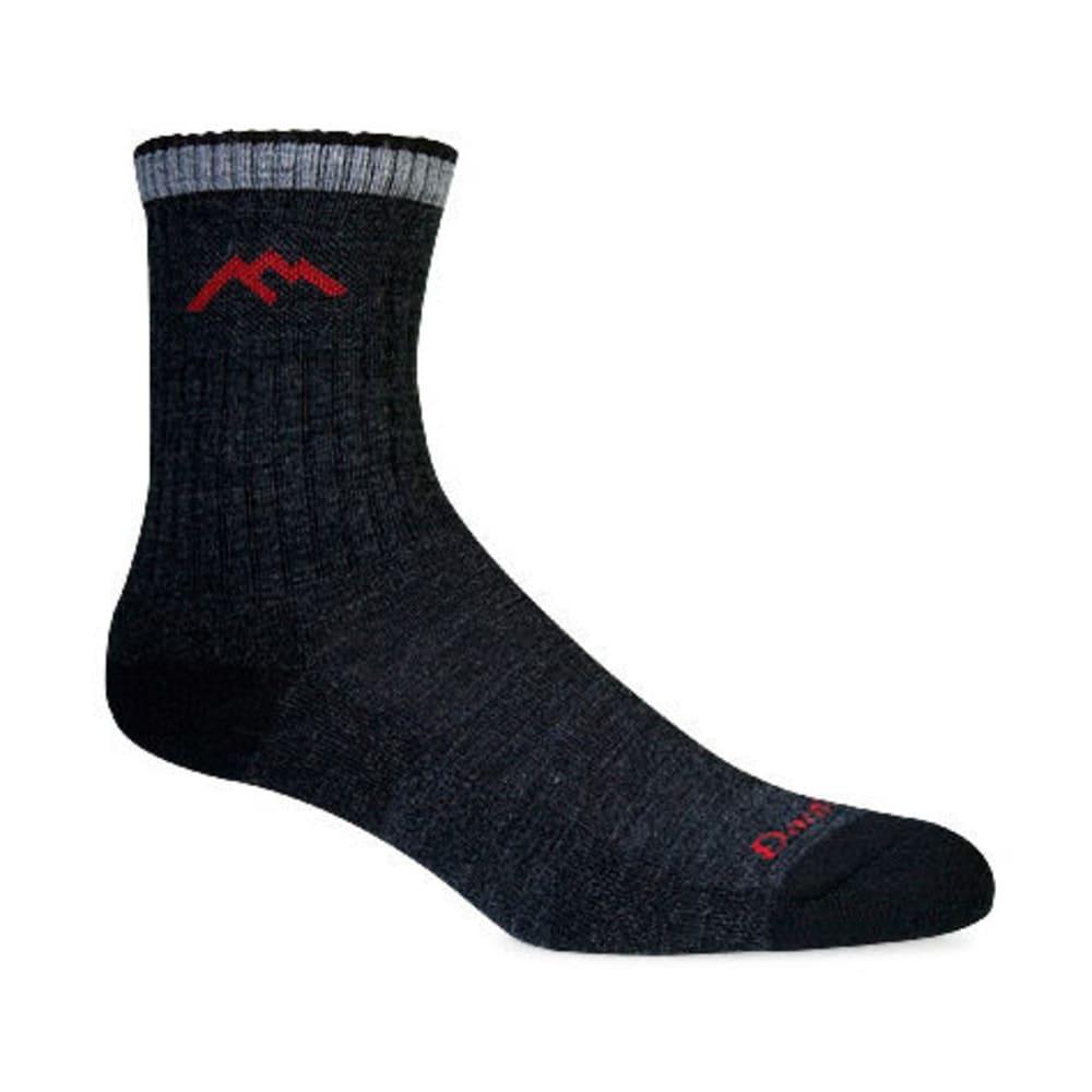 DARN TOUGH Men's Micro Crew 3/4 Hiking Socks - BLACK