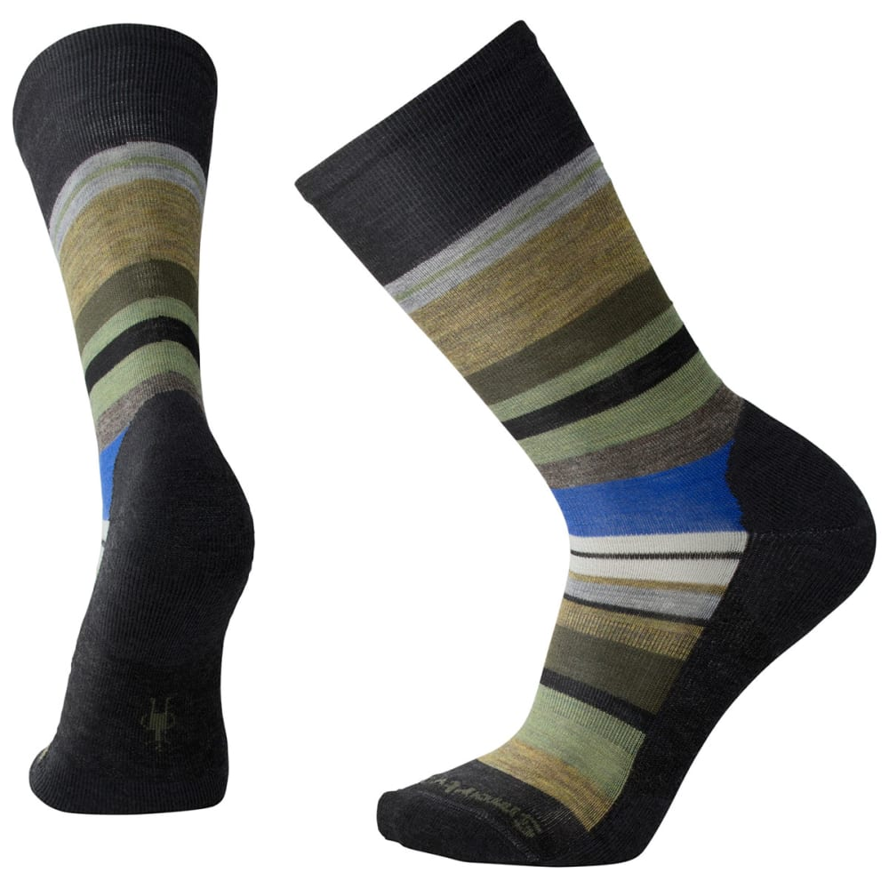 SMARTWOOL Men's Saturnsphere Socks - A50-CHAR HEATHER