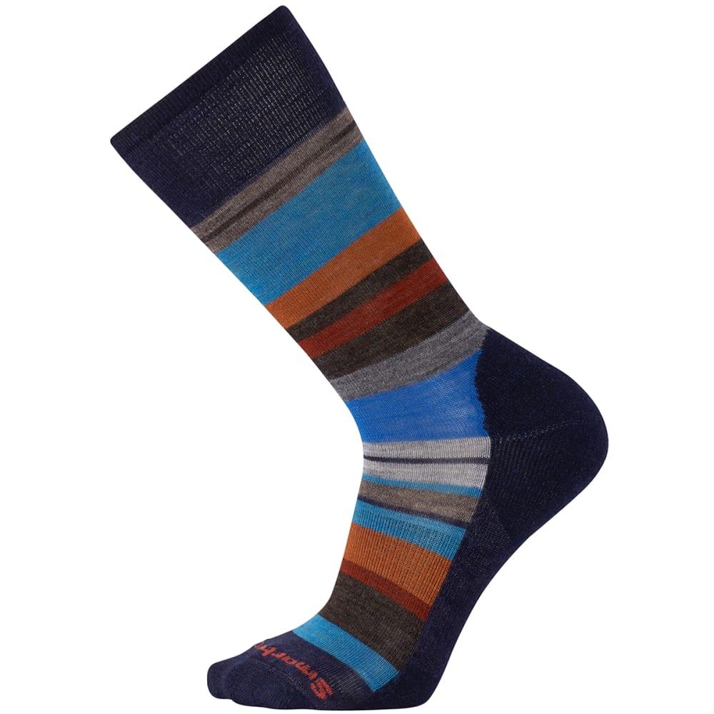 SMARTWOOL Men's Saturnsphere Socks - 863-DEEP NAVY