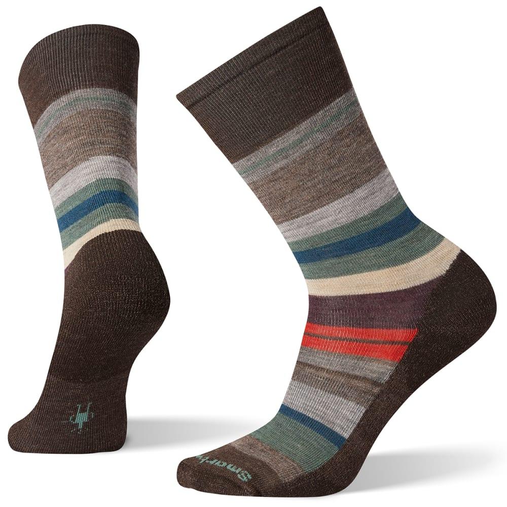 SMARTWOOL Men's Saturnsphere Socks - CHESTNUT PINE  - C84