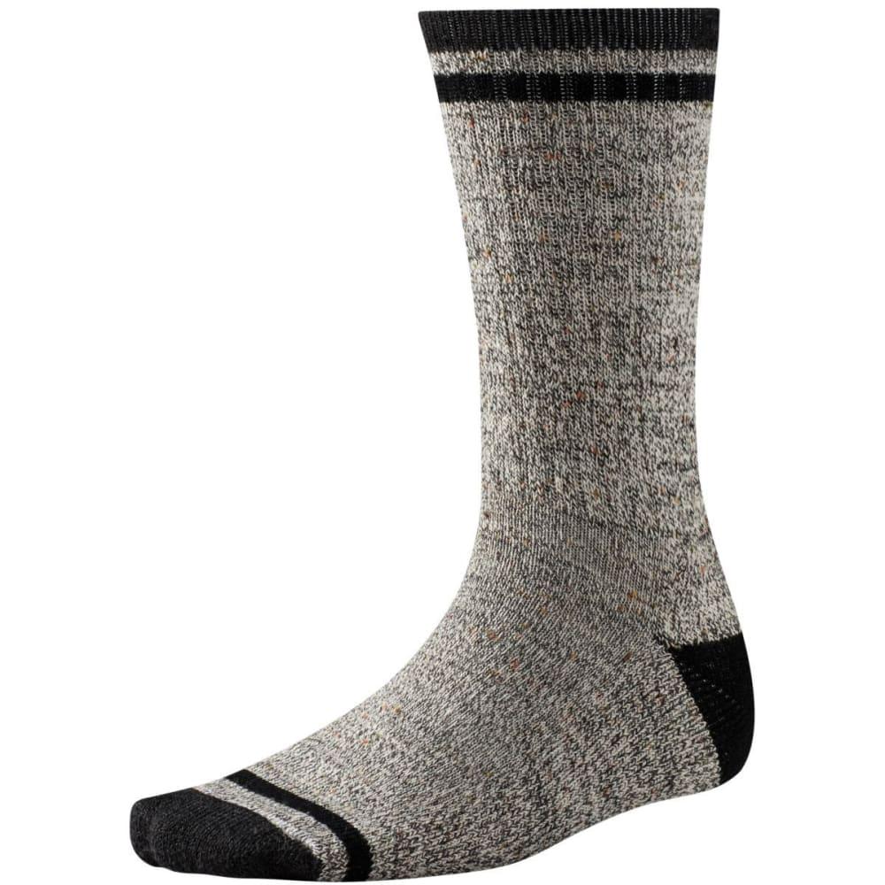 SMARTWOOL Men's Larimer Crew Socks - CHARCOAL 010