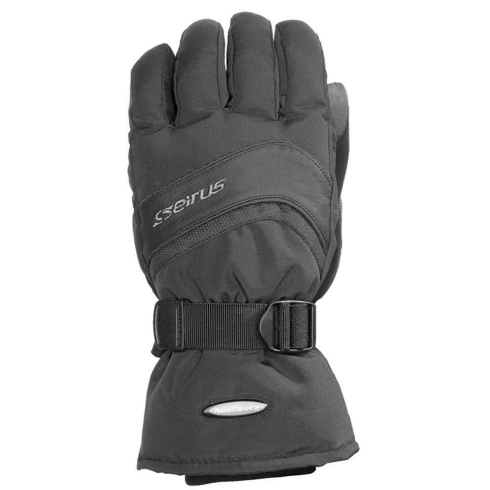 SEIRUS Men's Nvader Gauntlet Gloves - BLACK