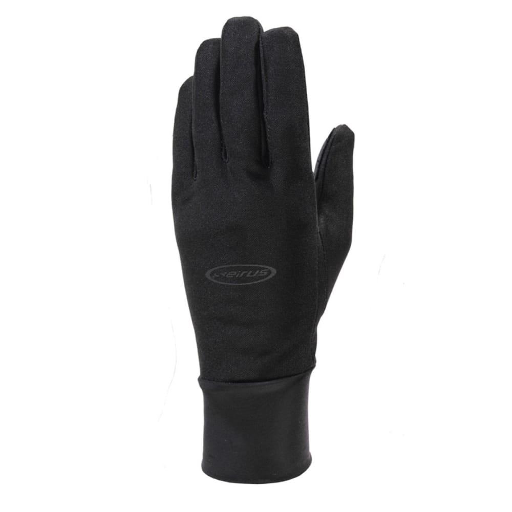 SEIRUS Men's Hyperlite All Weather Ultra-Thin Weatherproof Glove/Liners - BLACK
