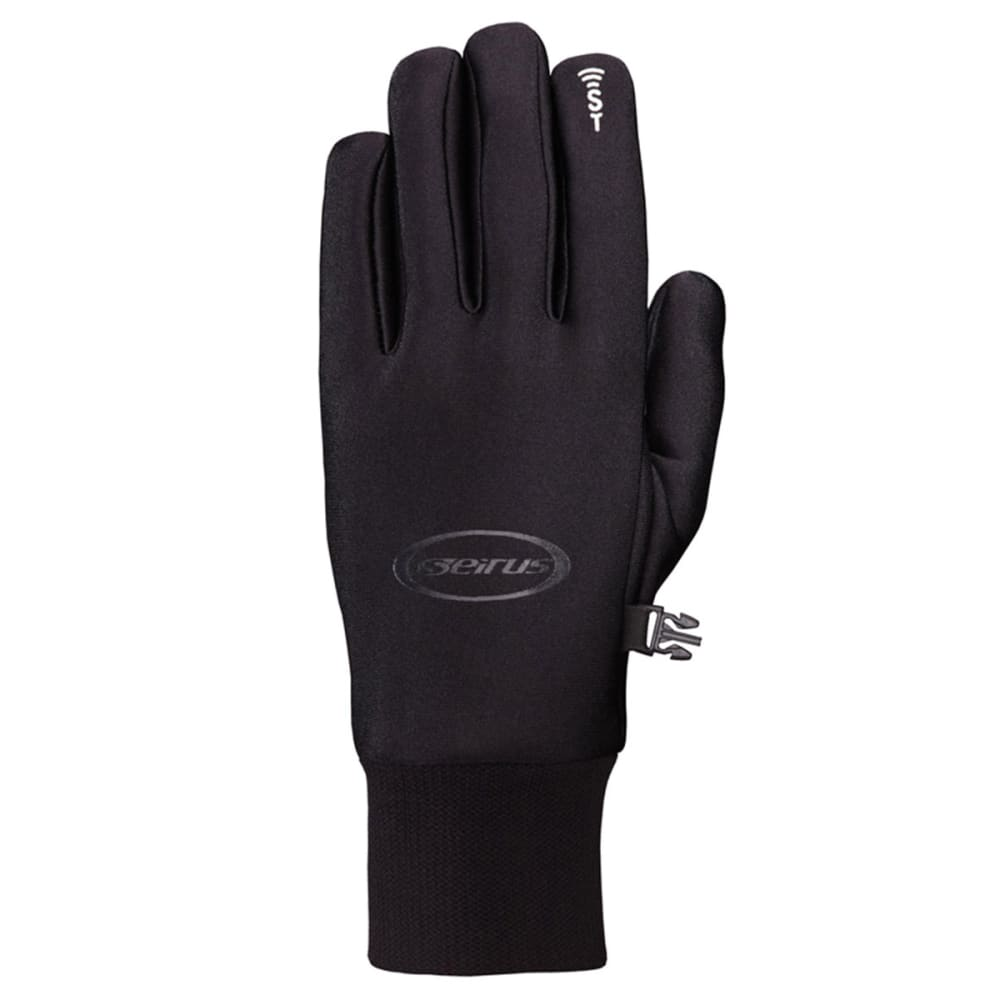 SEIRUS Men's Soundtouch All Weather Gloves - BLACK