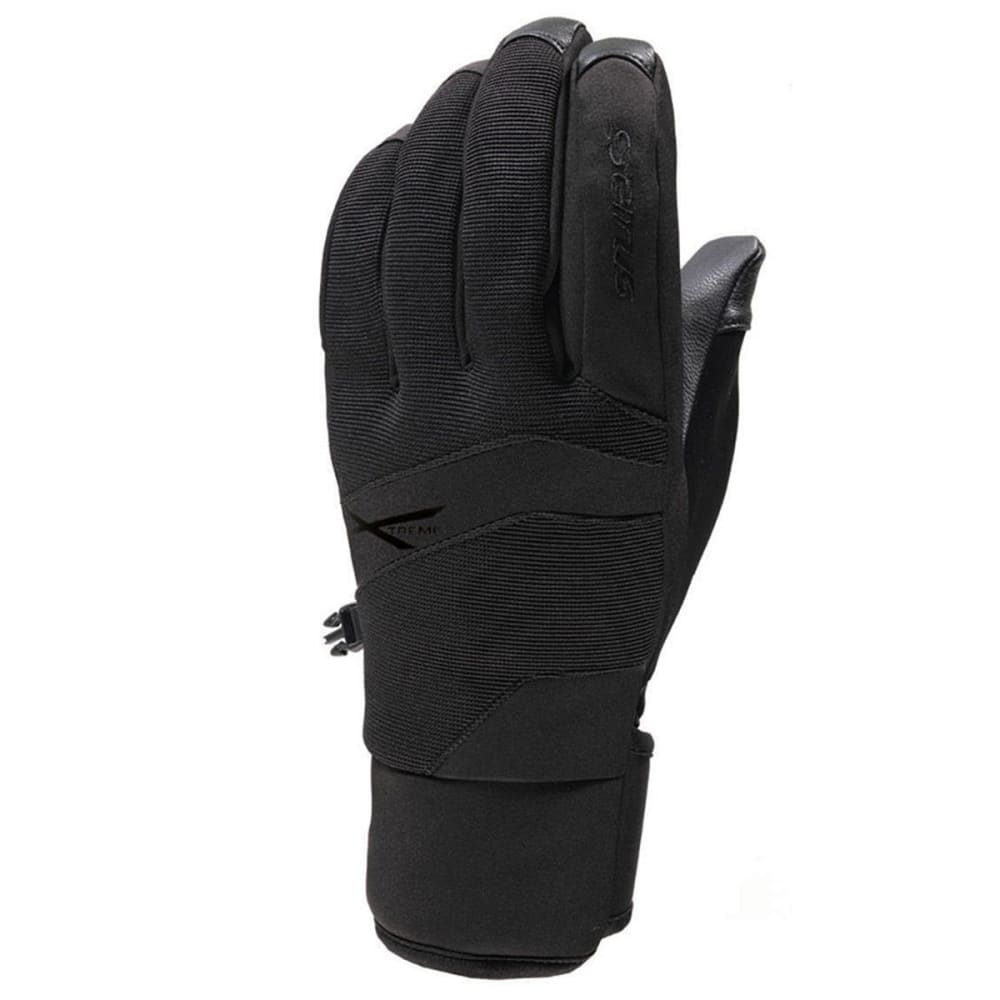 SEIRUS Men's Xtreme All Weather Blade Gloves - BLACK