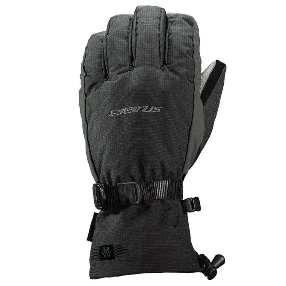 SEIRUS Men's Heatwave Accel Gloves - BLACK