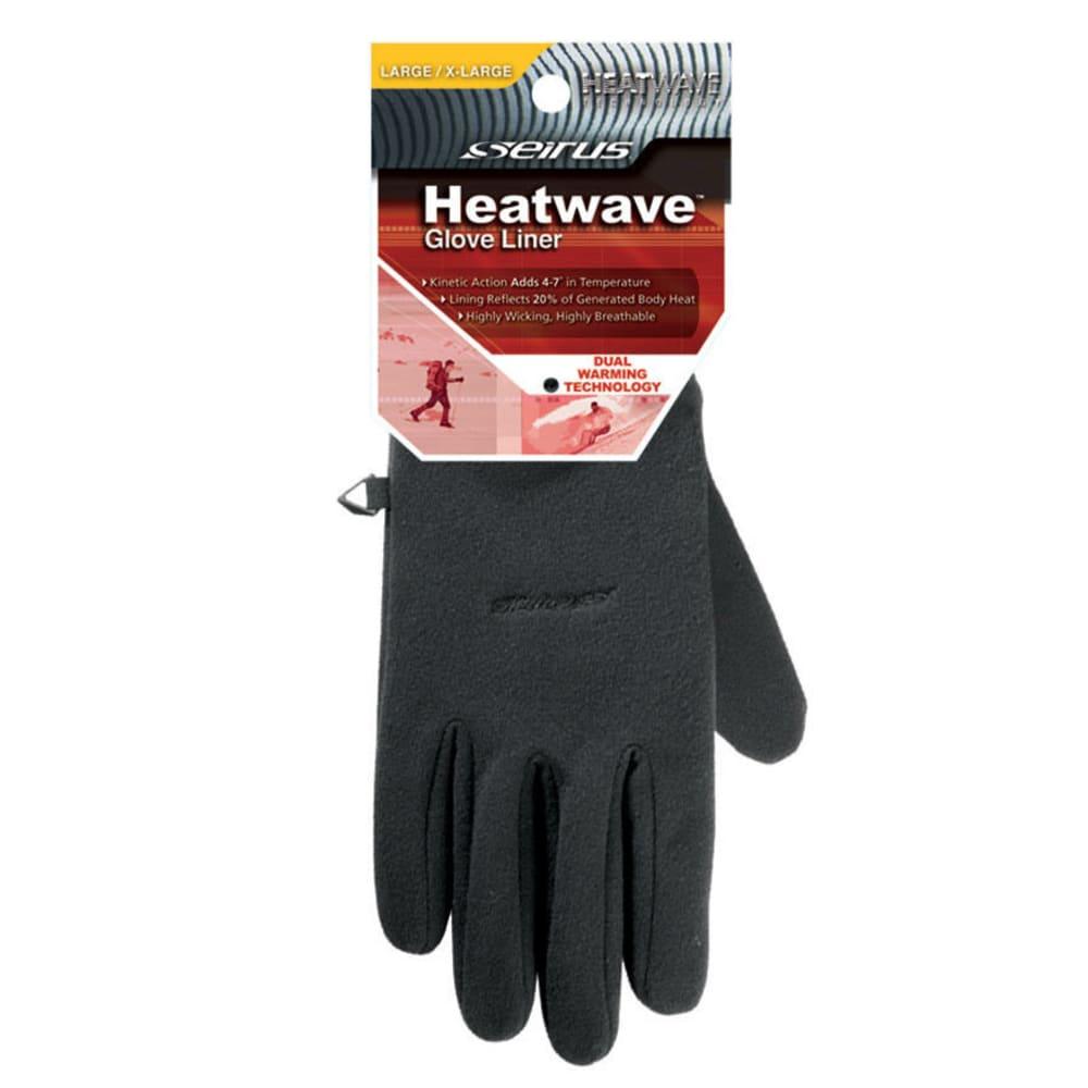 SEIRUS 2116 Heatwave Glove Liners - BLACK