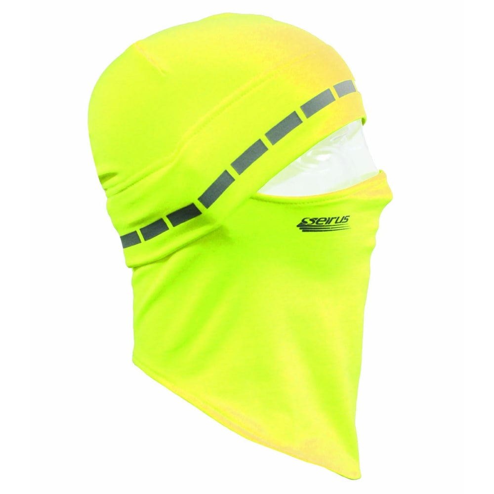 SEIRUS Men's Dynamax Quick Headliner , HI VIS GREEN ,hi-res