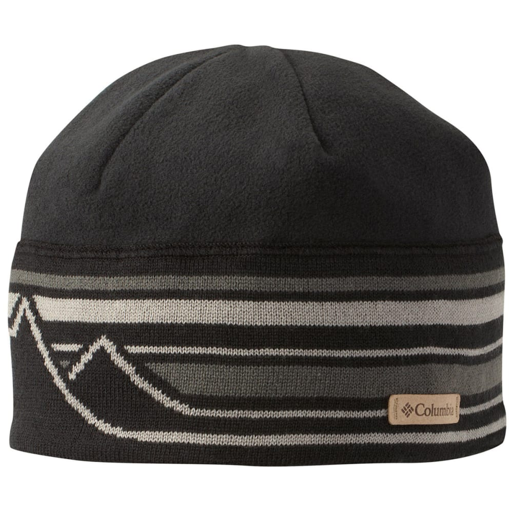 0d73b708ed327e COLUMBIA Men's Alpine Pass Beanie - BLACK 011