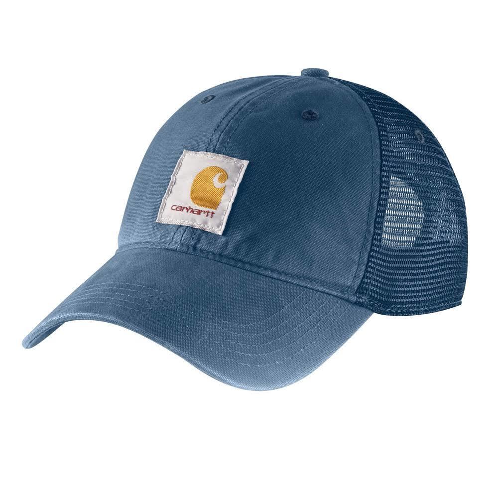 CARHARTT Men's Buffalo Cap - DK BLUE 476