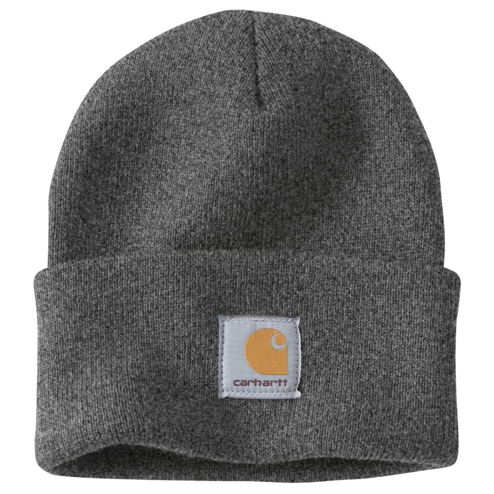 CARHARTT Men's Acrylic Watch Hat - CHARCOAL CLH