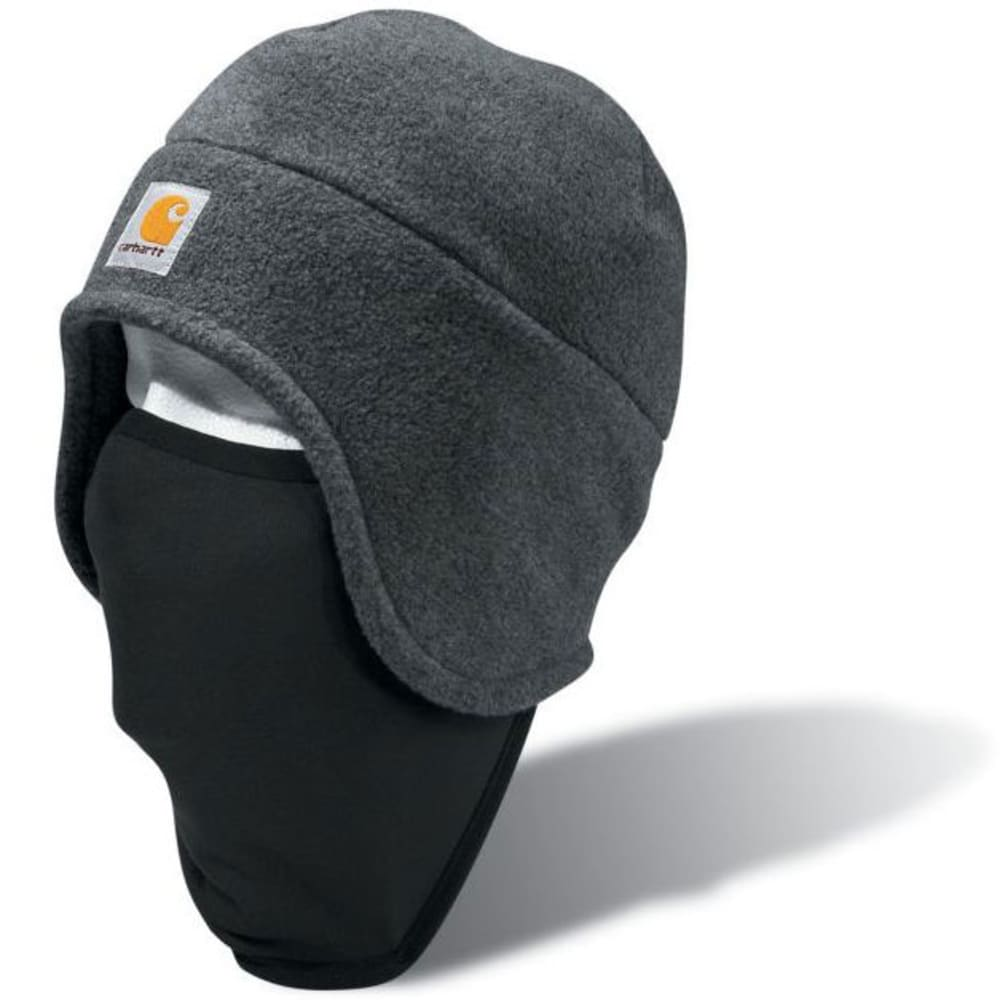 CARHARTT Fleece 2-in-1 Headwear - CHARCOAL